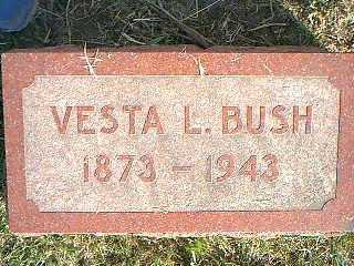 BUSH, VESTA L. - Taylor County, Iowa | VESTA L. BUSH