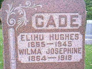 CADE, ELIHU HUGHES - Taylor County, Iowa | ELIHU HUGHES CADE