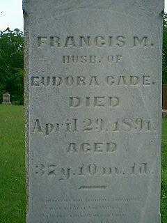 CADE, FRANCIS M. - Taylor County, Iowa | FRANCIS M. CADE