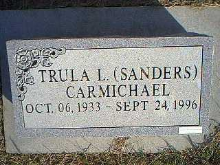 SANDERS CARMICHAEL, TRULA L. - Taylor County, Iowa | TRULA L. SANDERS CARMICHAEL