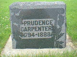 CARPENTER, PRUDENCE - Taylor County, Iowa | PRUDENCE CARPENTER