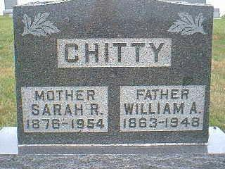 CHITTY, SARAH R. - Taylor County, Iowa | SARAH R. CHITTY