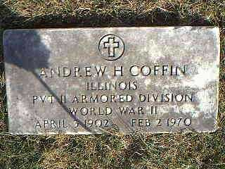 COFFIN, ANDREW H. - Taylor County, Iowa | ANDREW H. COFFIN