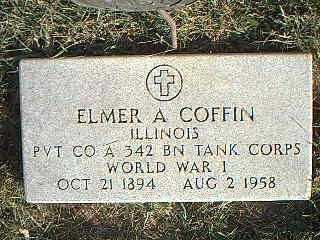 COFFIN, ELMER A. - Taylor County, Iowa | ELMER A. COFFIN