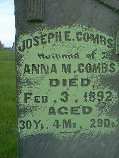COMBS, JOSEPH - Taylor County, Iowa | JOSEPH COMBS