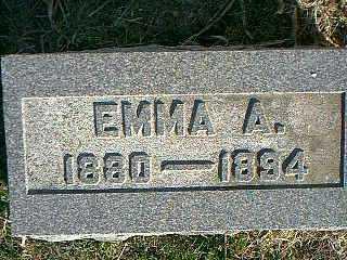 CORDES, EMMA A. - Taylor County, Iowa | EMMA A. CORDES