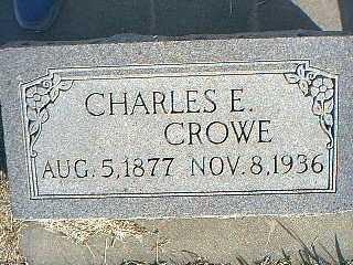 CROWE, CHARLES E. - Taylor County, Iowa | CHARLES E. CROWE