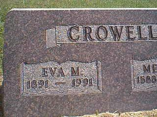 CROWELL, EVA - Taylor County, Iowa | EVA CROWELL