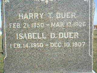 DUER, HARRY - Taylor County, Iowa | HARRY DUER