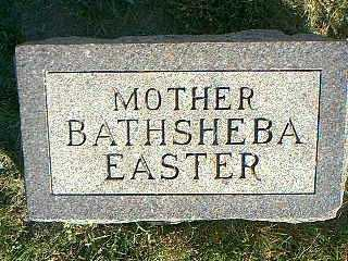 EASTER, BATHSHEBA - Taylor County, Iowa | BATHSHEBA EASTER