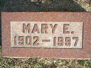 ELSE, MARY E. - Taylor County, Iowa | MARY E. ELSE
