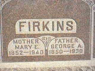 FIRKINS, GEORGE A. - Taylor County, Iowa | GEORGE A. FIRKINS