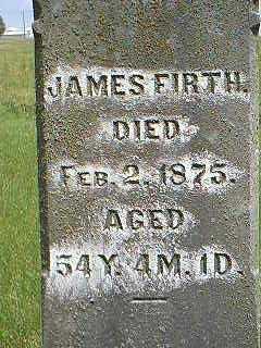 FIRTH, JAMES - Taylor County, Iowa | JAMES FIRTH
