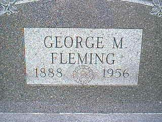 FLEMING, GEORGE M. - Taylor County, Iowa | GEORGE M. FLEMING