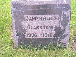 GLASSGOW, JAMES ALBERT - Taylor County, Iowa | JAMES ALBERT GLASSGOW