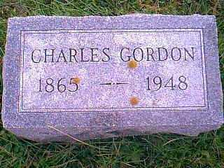 GORDON, CHARLES - Taylor County, Iowa | CHARLES GORDON