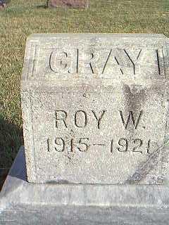 GRAY, ROY W. - Taylor County, Iowa | ROY W. GRAY