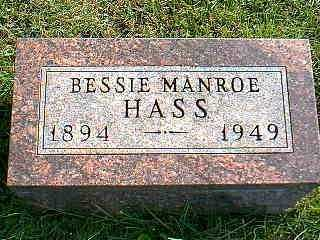 HASS, BESSIE - Taylor County, Iowa | BESSIE HASS