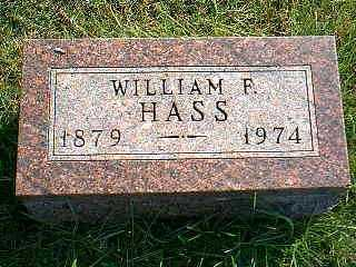 HASS, WILLIAM F. - Taylor County, Iowa | WILLIAM F. HASS
