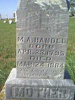HANDEL, M.A. - Taylor County, Iowa | M.A. HANDEL
