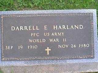 HARLAND, DARRELL E. - Taylor County, Iowa | DARRELL E. HARLAND
