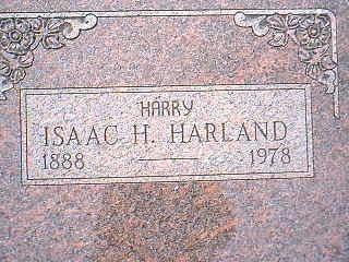 HARLAND, ISAAC HARRY - Taylor County, Iowa | ISAAC HARRY HARLAND
