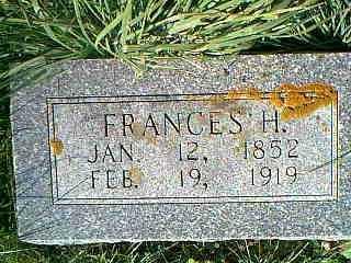 HENDERSON, FRANCES H. - Taylor County, Iowa | FRANCES H. HENDERSON