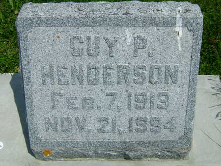 HENDERSON, GUY P - Taylor County, Iowa | GUY P HENDERSON