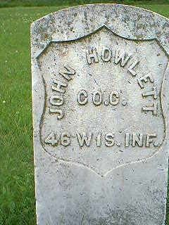 HOWLETT, JOHN - Taylor County, Iowa | JOHN HOWLETT