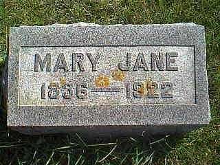 HUGHES, MARY JANE - Taylor County, Iowa | MARY JANE HUGHES