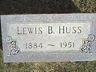 HUSS, LEWIS B. - Taylor County, Iowa | LEWIS B. HUSS