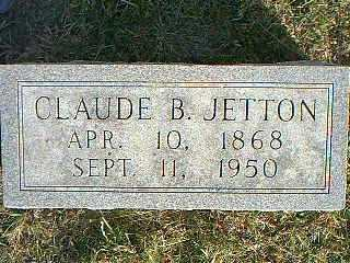 JETTON, CLAUDE B. - Taylor County, Iowa | CLAUDE B. JETTON