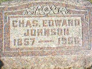 JOHNSON, CHAS EDWARD - Taylor County, Iowa | CHAS EDWARD JOHNSON