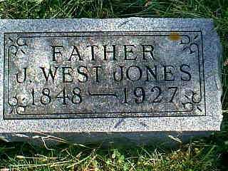 JONES, J. WEST - Taylor County, Iowa | J. WEST JONES