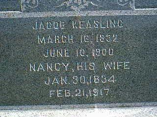 KEASLING, JACOB - Taylor County, Iowa | JACOB KEASLING