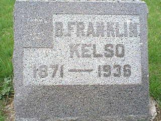 KELSO, B. FRANKLIN - Taylor County, Iowa   B. FRANKLIN KELSO