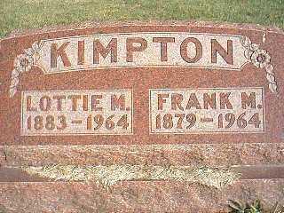 KIMPTON, FRANK M. - Taylor County, Iowa | FRANK M. KIMPTON