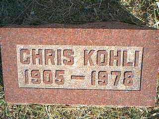 KOHLI, CHRIS - Taylor County, Iowa | CHRIS KOHLI