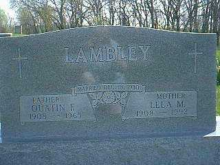 LAMBLEY, LELA M. - Taylor County, Iowa | LELA M. LAMBLEY