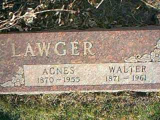 LAWGER, WALTER - Taylor County, Iowa | WALTER LAWGER