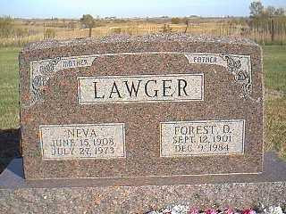LAWGER, NEVA - Taylor County, Iowa | NEVA LAWGER