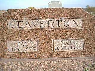 LEAVERTON, MAE - Taylor County, Iowa | MAE LEAVERTON
