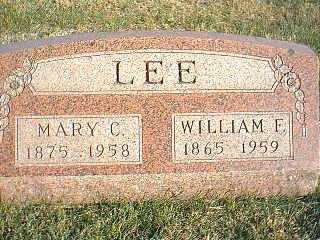 LEE, WILLIAM F. - Taylor County, Iowa | WILLIAM F. LEE