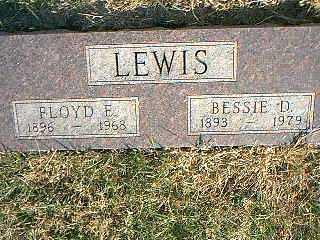LEWIS, BESSIE D. - Taylor County, Iowa | BESSIE D. LEWIS