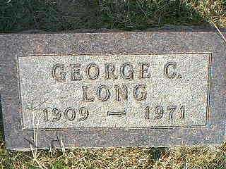 LONG, GEORGE C. - Taylor County, Iowa | GEORGE C. LONG