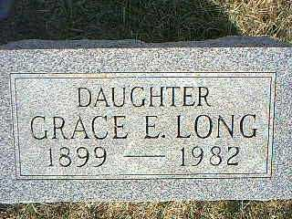 LONG, GRACE E. - Taylor County, Iowa | GRACE E. LONG