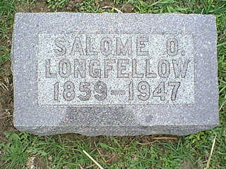 LONGFELLOW, SALOME O. - Taylor County, Iowa | SALOME O. LONGFELLOW