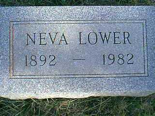 LOWER, NEVA - Taylor County, Iowa | NEVA LOWER