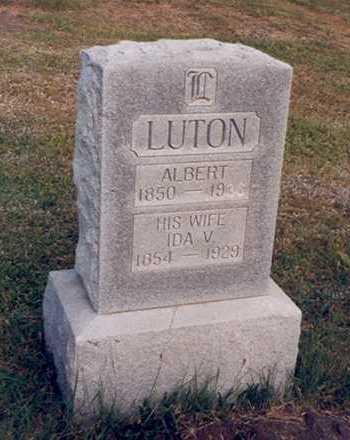 LUTON, ALBERT - Taylor County, Iowa | ALBERT LUTON