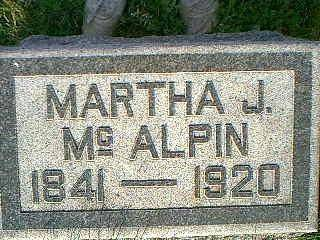 MCALPIN, MARTHA - Taylor County, Iowa | MARTHA MCALPIN